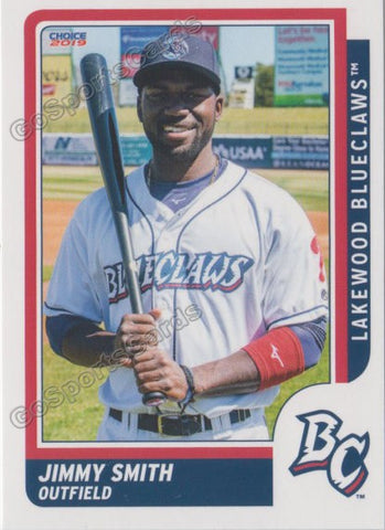 2019 Lakewood BlueClaws Jimmy Smith