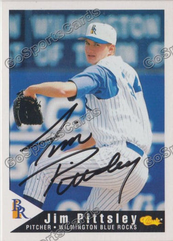 1994 Classic Wilmington Blue Rocks Jim Pittsley Autograph