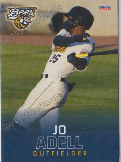 2018 Burlington Bees Jo Adell