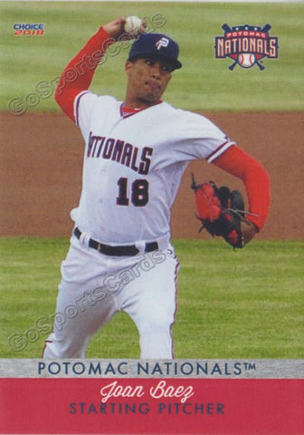 2018 Potomac Nationals Joan Baez