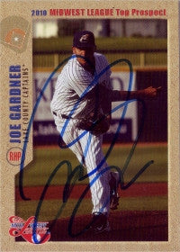 Joe Gardner 2010 MidWest League Top Prospects (Autograph)