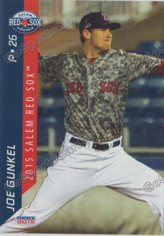 2015 Salem Red Sox Team Set