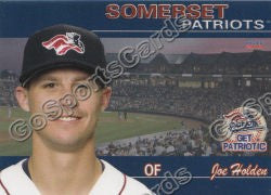 2011 Somerset Patriots Joe Holden