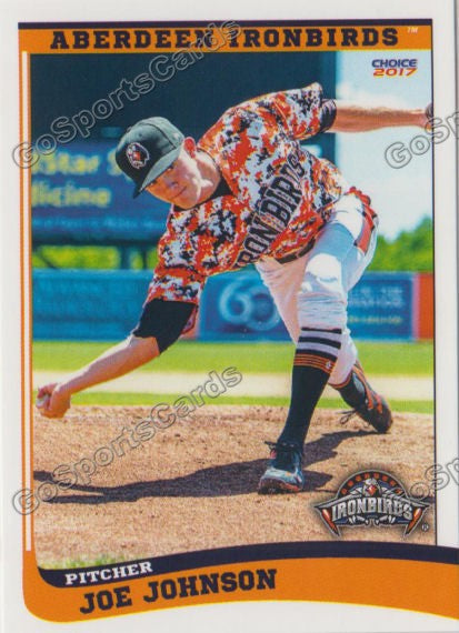 2017 Aberdeen Ironbirds Joe Johnson