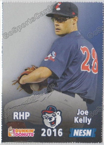 2016 Pawtucket Red Sox SGA Dunkin Donuts Joe Kelly