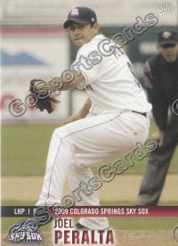2009 Colorado Springs Sky Sox Joel Peralta