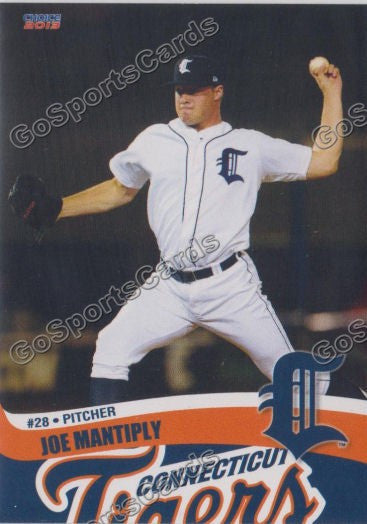 2013 Connecticut Tigers Joe Mantiply