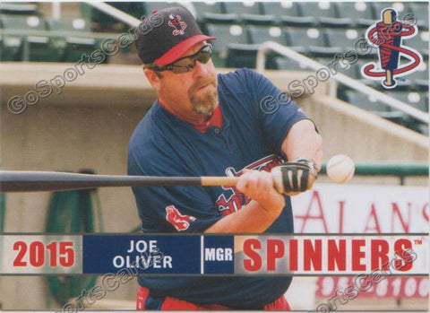 2015 Lowell Spinners Joe Oliver