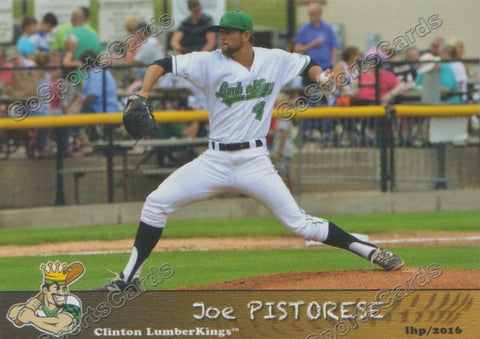 2016 Clinton LumberKings Update Joe Pistorese