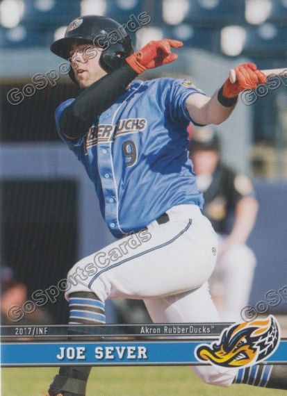 2017 Akron RubberDucks Joe Sever