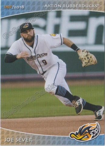 2018 Akron Rubber Ducks Joe Sever