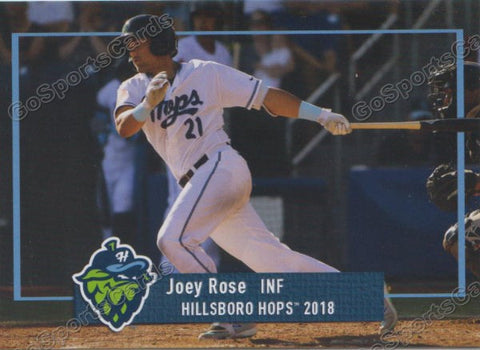 2018 Hillsboro Hops Joey Rose