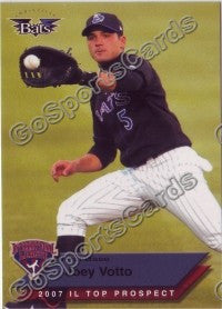 2007 International League Top Prospects Choice Joey Votto