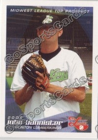 2005 Midwest League Top Prospects John Bannister
