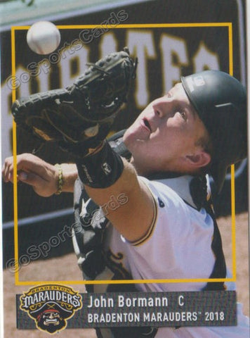 2018 Bradenton Marauders John Bormann