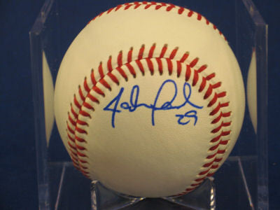 John Lamb signed Baseball Auto