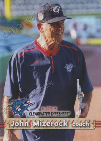 2018 Clearwater Threshers John Mizerock