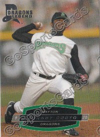 2008 Dayton Dragons Johnny Cueto
