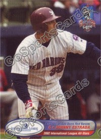 2002 International League All-Stars Choice Johnny Estrada