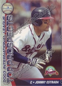2003 International League Top Prospects Choice Johnny Estrada