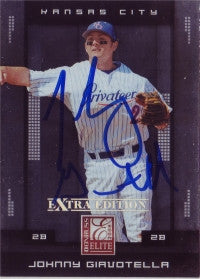 Johnny Giavotella 2008 Donruss Elite #53 (Autograph)
