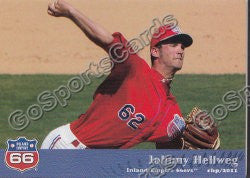 2011 Inland Empires 66ers John Johnny Hellweg