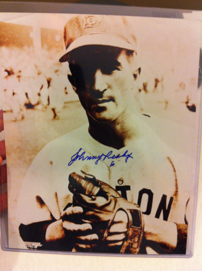 Johnny Pesky Signed 8x10 Photo Auto #A