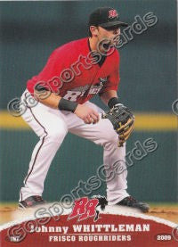 2009 Frisco Roughriders Johnny Whittleman