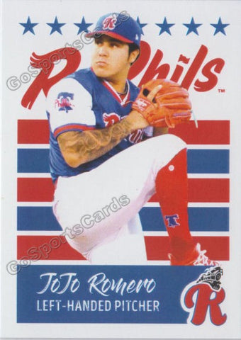 2019 Reading Fightin Phils U3 Jojo Romero