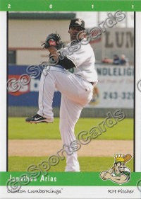 2011 Clinton LumberKings Jonathan Arias