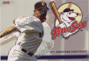 2008 Pawtucket Red Sox Jonathan Van Every