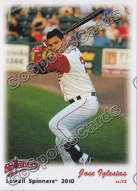 2010 Lowell Spinners Update Jose Iglesias