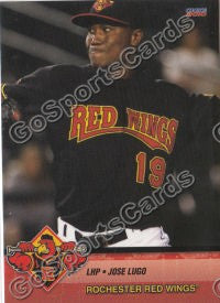 2010 Rochester Red Wings Jose Lugo
