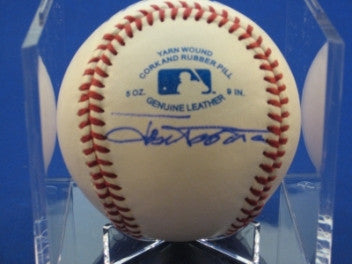 Jose Tabata signed Baseball Auto