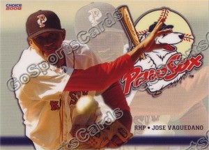 2008 Pawtucket Red Sox Jose Vaquedano