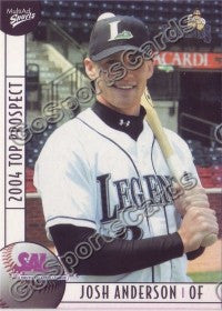 2004 South Atlantic League SAL Top Josh Anderson