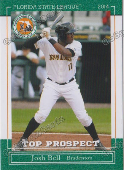 2014 Florida State League Top Prospect Josh Bell