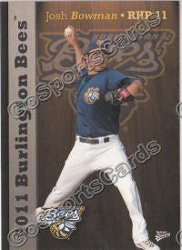 2011 Burlington Bees Josh Bowman