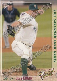 2011 Savannah Sand Gnats Josh Edgin