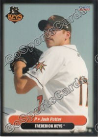 2007 Frederick Keys Josh Potter Go Sports Cards Welcome to the newly rebranded josh potter show! go sports cards