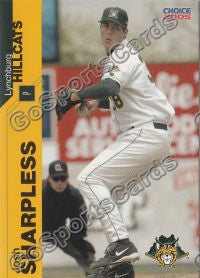 2005 Lynchburg Hillcats Josh Sharpless
