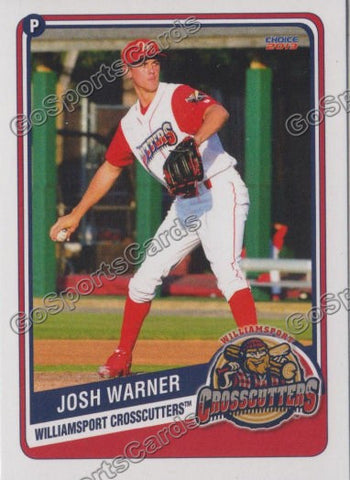 2013 Williamsport CrossCutters Josh Warner