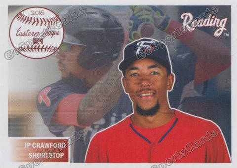2016 Reading Fightin Phils Top Prospect 11 Team Set