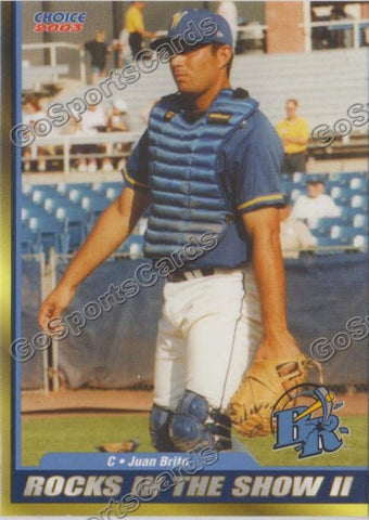 2003 Wilmington Blue Rocks Juan Brito