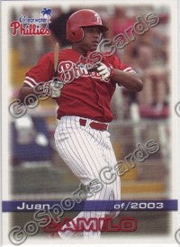 2003 Clearwater Phillies Juan Camilo