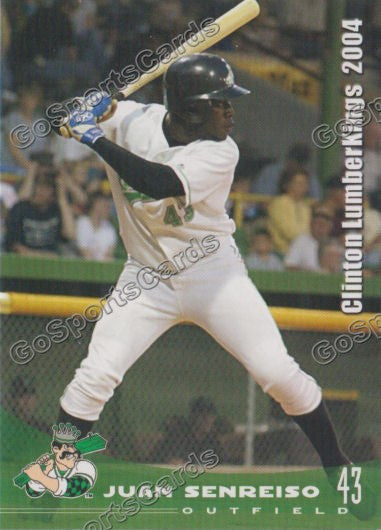 2004 Clinton Lumberkings Juan Senreiso