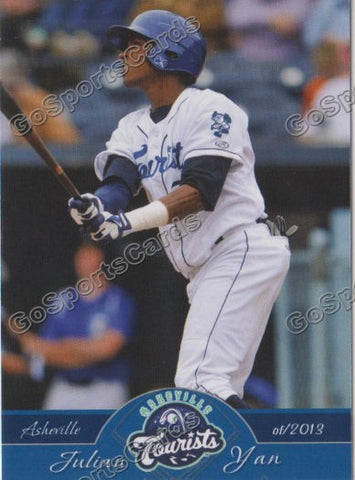 2013 Asheville Tourists Julian Yan