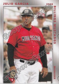 2008 Billings Mustangs Julio Garcia