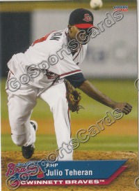 2012 Gwinnett Braves Team Set
