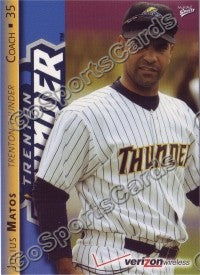 2008 Trenton Thunder Julius Matos